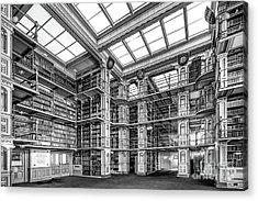 Georgetown University Riggs Library Acrylic Print