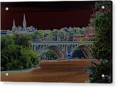 Georgetown5523 Acrylic Print by Carolyn Stagger Cokley