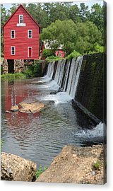 Acrylic Print featuring the photograph Georgia Mill by Margaret Palmer