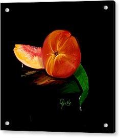 Georgia Peach Acrylic Print