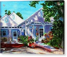 Georgia Street, Key West Acrylic Print