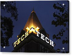 Georgia Tech Atlanta Georgia Art Acrylic Print by Reid Callaway