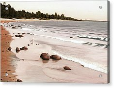 Georgian Bay Beach Acrylic Print