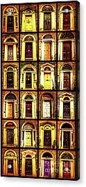Georgian Doors Of Dublin 4 Acrylic Print