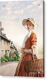 Georgian Period Woman Acrylic Print