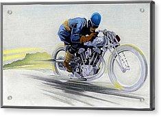 Geo's Bike Acrylic Print by Lyle Brown