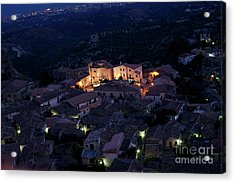 Acrylic Print featuring the photograph Gerace by Bruno Spagnolo