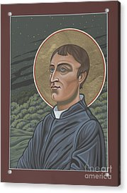 Gerard Manley Hopkins Amidst The Firefolk 215 Acrylic Print by William Hart McNichols