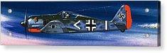 German Aircraft Of World War Two Focke Wulf Fighter Acrylic Print by Wilf Hardy