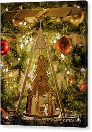 German Christmas Pyramid Acrylic Print