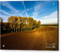 Fields From Above Acrylic Print