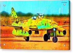 German Messerschmitt Me 262 Hg 2 - Da Acrylic Print