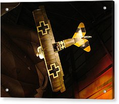 German Wwi Attack Acrylic Print by Tommy Anderson