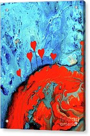 Germinating Love Acrylic Print