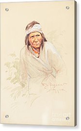 Geronimo Acrylic Print by Celestial Images