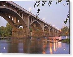 Gervais Bridge Acrylic Print