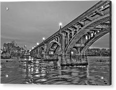 Gervais Street Bridge II Acrylic Print