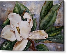 Acrylic Print featuring the painting Get A Grip by Mary McCullah