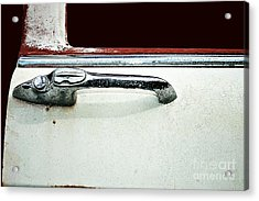Acrylic Print featuring the photograph Get A Handle by Stephen Mitchell
