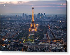 Get Ready For The Show Acrylic Print by Giuseppe Torre