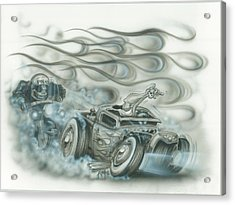 Gettin Away Acrylic Print by Mike Royal