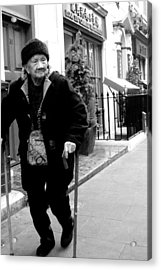 Getting Out Acrylic Print by Jez C Self