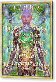 Getting Super Chart For Affirmation Visualization V2 Acrylic Print