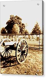 Gettysburg Cannon Acrylic Print