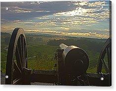 Gettysburg Canon Acrylic Print