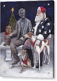 Gettysburg Christmas Acrylic Print by Charlotte Yealey