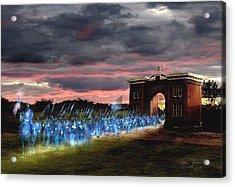 Gettysburg Evergreen Acrylic Print by Tom Straub