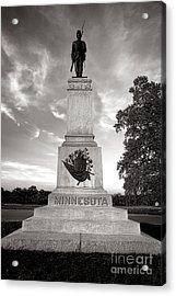 Gettysburg National Park 1st Minnesota Infantry Monument Acrylic Print