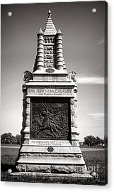 Gettysburg National Park 6th New York Cavalry Monument Acrylic Print by Olivier Le Queinec