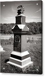 Gettysburg National Park 6th Wisconsin Iron Brigade Monument Acrylic Print by Olivier Le Queinec