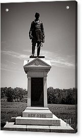 Gettysburg National Park Abner Doubleday Monument Acrylic Print by Olivier Le Queinec