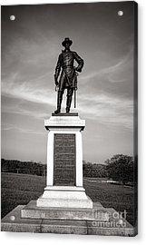 Gettysburg National Park Brigadier General Alexander Webb Monument Acrylic Print by Olivier Le Queinec
