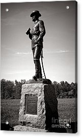 Gettysburg National Park Major General John Buford Monument Acrylic Print by Olivier Le Queinec