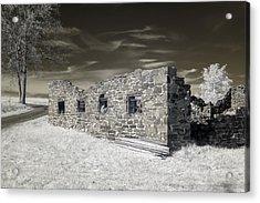Gettysburg - Rose Farm Ruins Acrylic Print