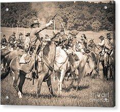 Gettysburg  Union Cavalry 7920s  Acrylic Print
