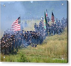 Gettysburg Union Infantry 8948c Acrylic Print