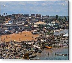 Ghana Africa Acrylic Print by David Gleeson