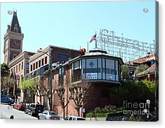Ghirardelli Chocolate Factory San Francisco California 7d14093 Acrylic Print