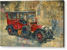 Ghost - Hawton Acrylic Print by Peter Miller