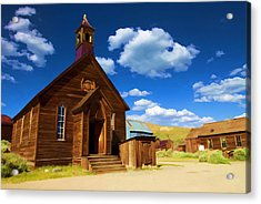 Ghost Church Acrylic Print