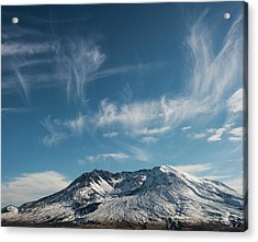 Ghost Clouds Acrylic Print