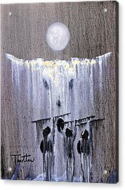 Ghost Dance Acrylic Print by Patrick Trotter