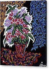 Ghost Flower Acrylic Print by Robert SORENSEN