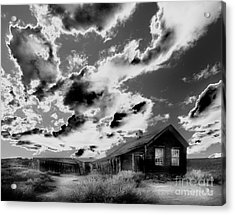 Acrylic Print featuring the photograph Ghost House by Jim and Emily Bush