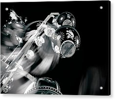Acrylic Print featuring the photograph Ghost In The Machine by Wayne Sherriff