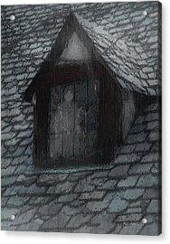 Ghost Rain Acrylic Print by RC deWinter